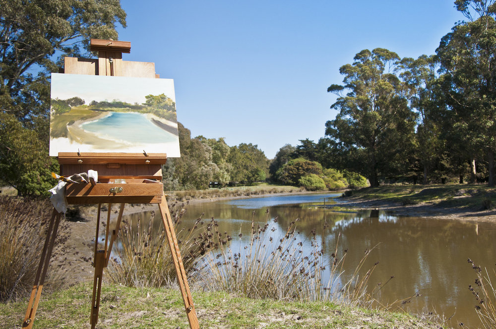 Photo by Getty Images | How to Paint En Plein Air: Beginner Landscape Techniques Excerpted from Plein Air Painting in Oil by Frank Serrano, Walter Foster Publishing, Laguna Hills, California