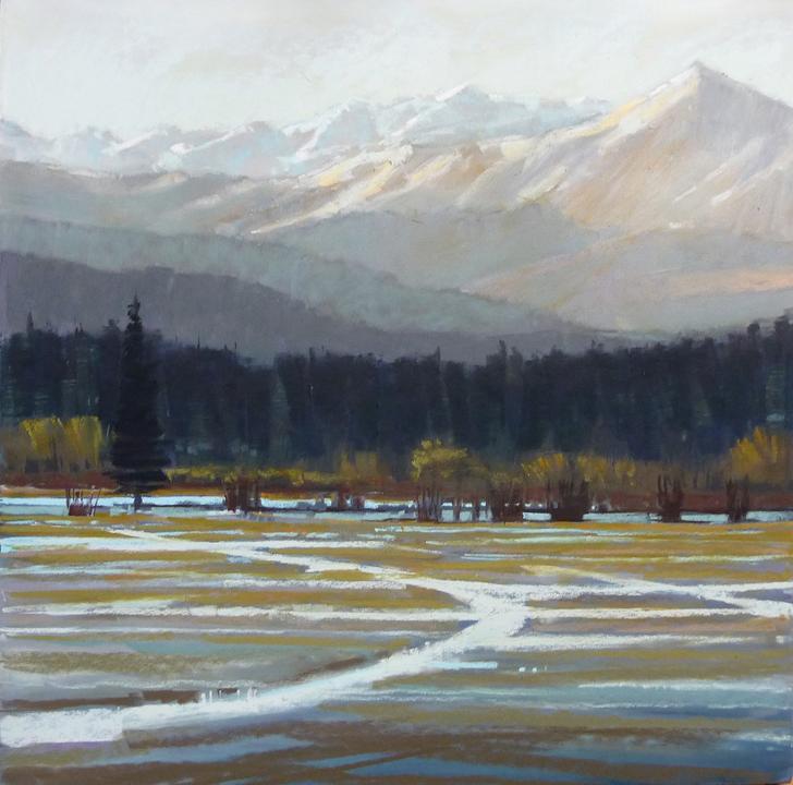 First Snow by Liz Haywood-Sullivan