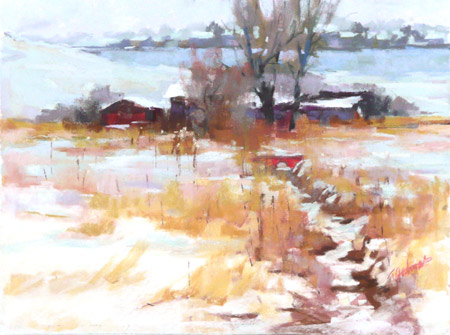 Winter Ditches, by Teri Gortmaker