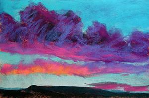 Pastel Painting Demo of La Carte