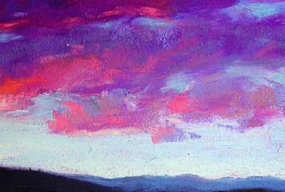 Pastel Painting Demo La Carte