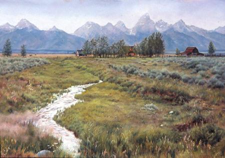 Marion Hylton, Pioneer Teton Ranch