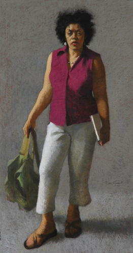Andrea (pastel) by Sam Goodsell