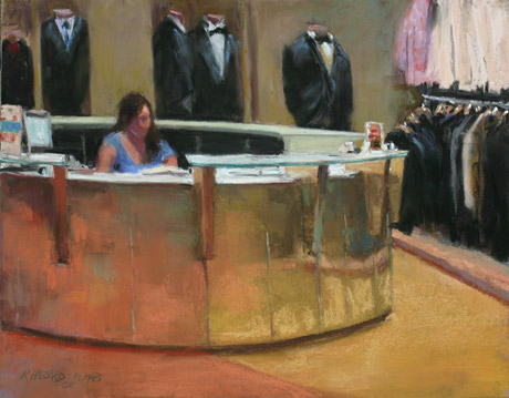 Ray Hassard, Formalwear, Wednesday Evening (11x14)
