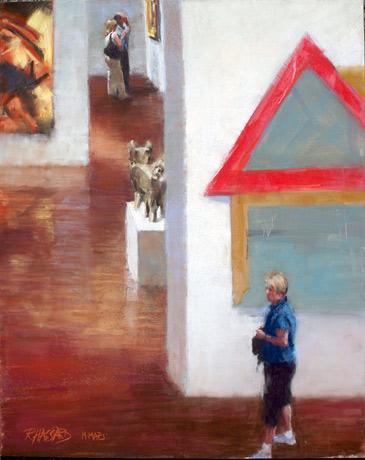 Ray Hassard, Modern in Milwaukee (20x16)