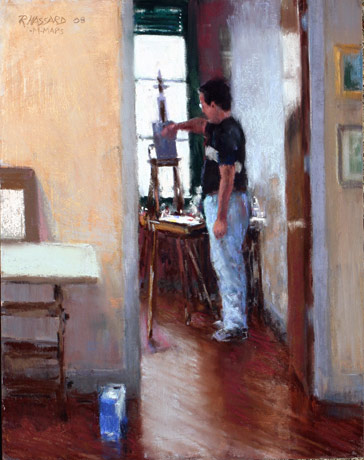Ray Hassard, The Painter (14x11)