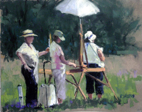Ray Hassard, Plein Air Trio (8x10)