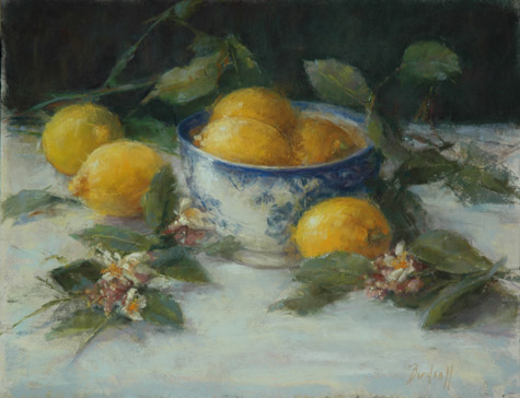Lemons and Their Blossoms