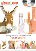 Painting Textures in Colored Pencil with Gary Greene
