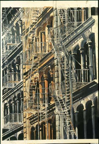 Sandra Walker, Hester Street — N.Y.C.