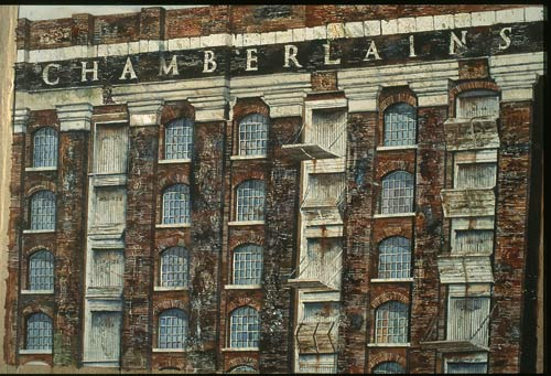 Sandra Walker, Chamberlain's Wharf — London