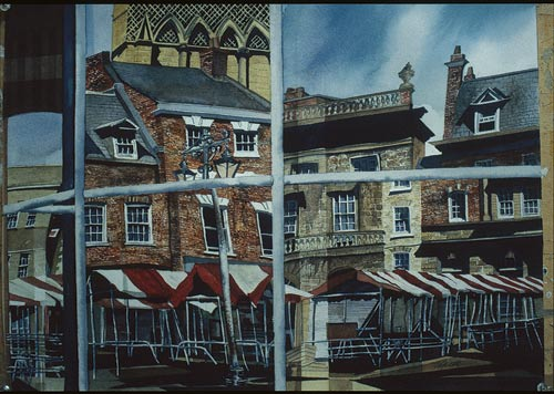 Sandra Walker, Market Day — York