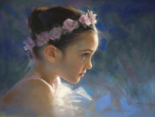 Wonder (pastel) by Alain Picard
