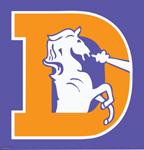 Denver Broncos logo circa 1970–1998