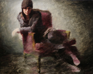 Portrait Artist Casey Baugh, Figurative Art, painting clothing