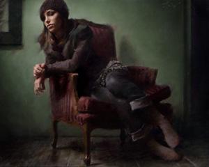 Portrait Artist Casey Baugh, Figurative Art, finishing touches