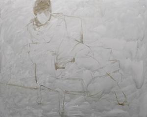 Portrait Artist Casey Baugh, Figurative Art, block-in