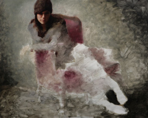Portrait Artist Casey Baugh, Figurative Art, figure detail