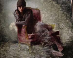 Portrait Artist Casey Baugh, Figurative Art, second-range color