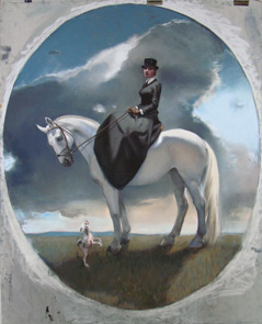 Equestrienne Self-Portrait demonstration by Gaela Erwin