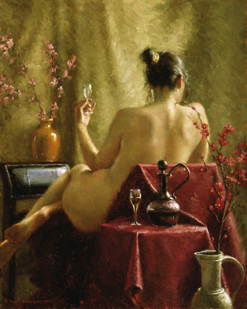 Figure Painting in Oil, free demo by Bryce Cameron Liston 1