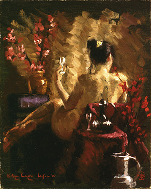 Figure Painting in Oil, free demo by Bryce Cameron Liston, color study