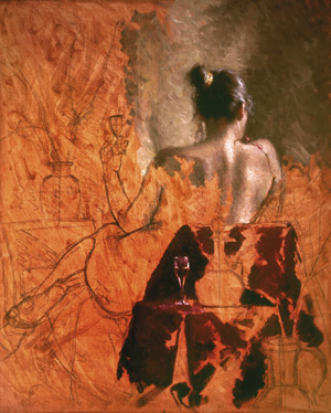 Figure Painting in Oil, free demo by Bryce Cameron Liston 5