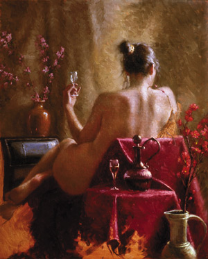 Figure Painting in Oil, free demo by Bryce Cameron Liston 6
