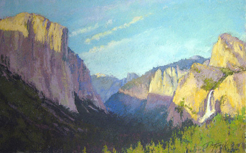 A Grand View (pastel, 12x18) by Terri Ford