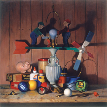 oil still life demonstration image