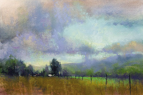 Richard Mckinley Poetic Landscapes In Oil And Pastel