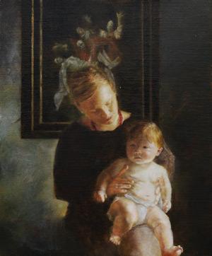 Mother and Child by Lauren Tilden