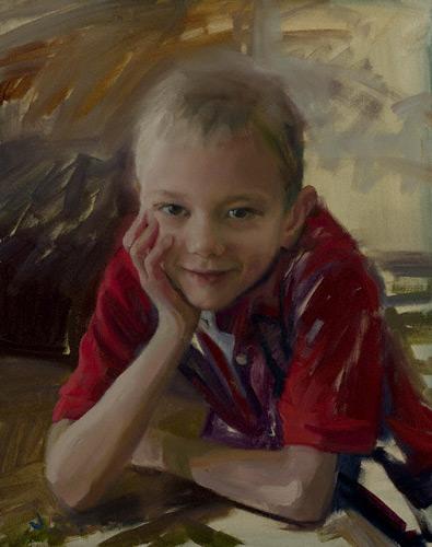 David (oil, 20x16)