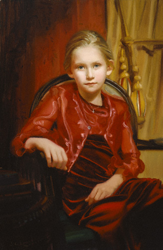 Allie (oil, 26x17)