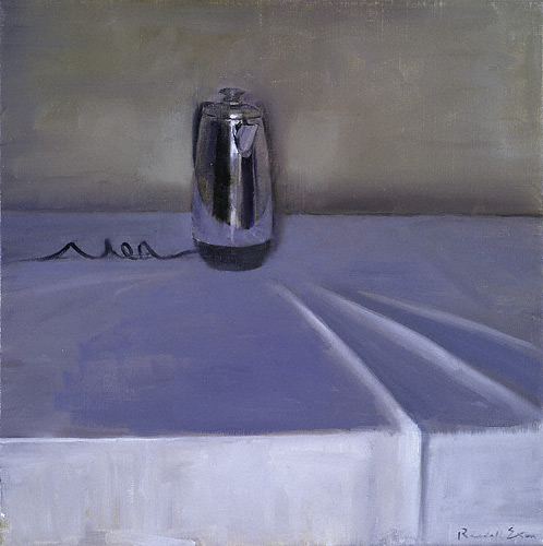 Coffee Pot (oil, 16x16) by Randall Exon