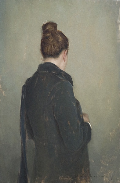 Going Out (oil, 30x20) by Aaron Westerberg