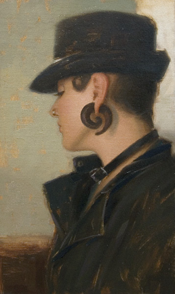 Cork Screw (oil, 14x7) by Aaron Westerberg