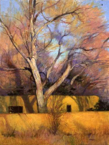 oil landscape painting by Albert Handell