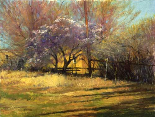 oil landscape painting by Albert Handell