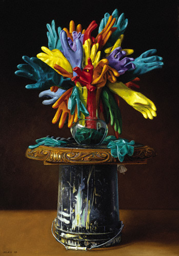 Full Bloom II (oil, 48x34)