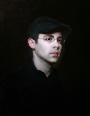Portrait of Gregg (oil, 26x20) by Adrian Gottlieb, Step 3