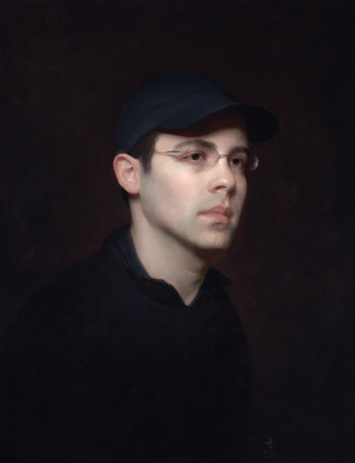 Portrait of Gregg (oil, 26x20) by Adrian Gottlieb