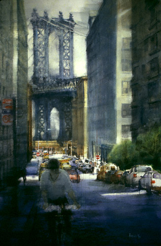 "New York Bridges: ""Manhattan Bridge"" by Antonio Masi 