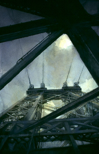"New York Bridges: ""View from Below"" by Antonio Masi 