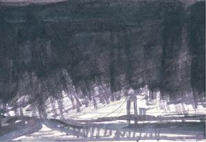 Concept Sketch by Antonio Masi | Watercolor Techniques