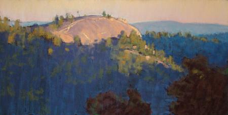 Warm Granite (pastel) by Clark Mitchell