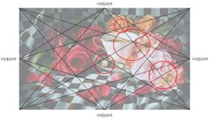 """Favorites"" (oil, 18x30) by Arleta Pech with harmonic armature"