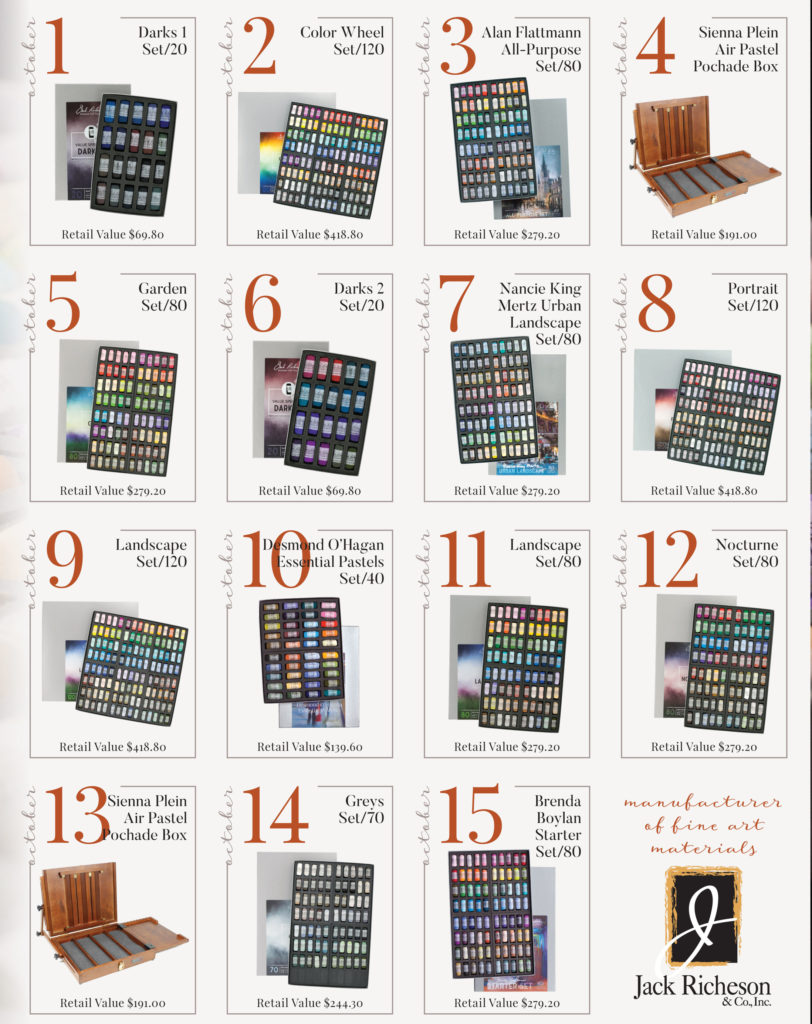 Richeson pastel giveaway october 2018