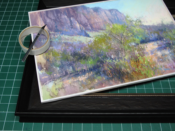 Richard Mckinleys Pastel Pointers Blog Passe Partout Framing