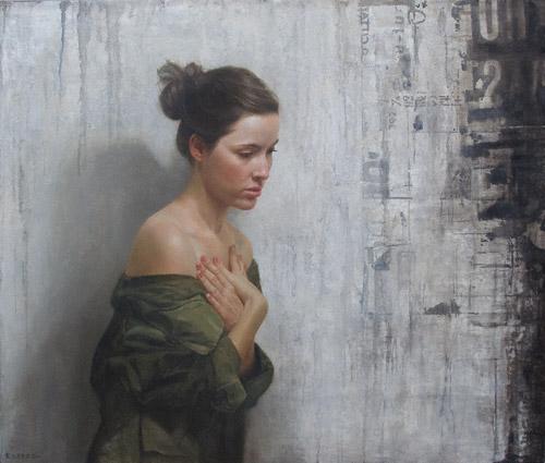 Approaching Noise (oil, 34x40) by David Jon Kassan